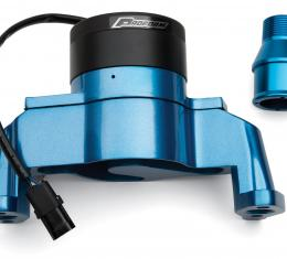 Proform Electric Engine Water Pump, Aluminum, Blue Powder Coat, Fits SB Chevy Engines 66225B
