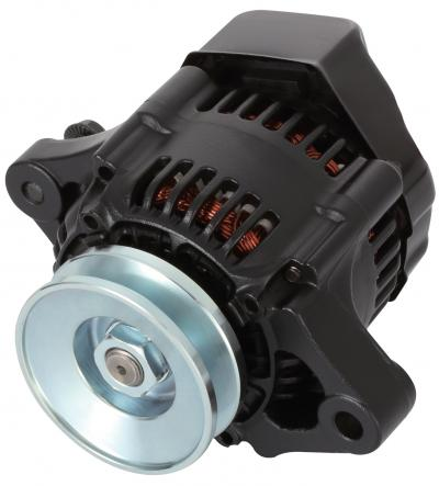 Proform 100% NEW, BLACK, 1-WIRE MINI ALTERNATOR, GM 50 AMP. 66432