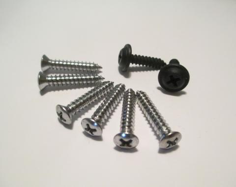 Corvette Grille Screws, Front, 1970-1974