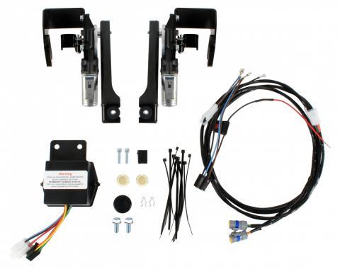 Detroit Speed Corvette C2 Electric Headlight Door Kit 63-67 Corvette 122008
