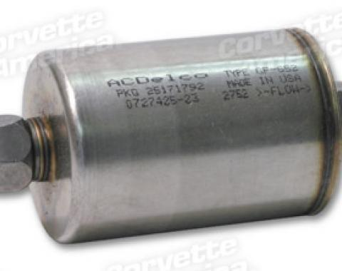 Corvette Fuel Filter, Canister Type GF-19652, 1985-1996
