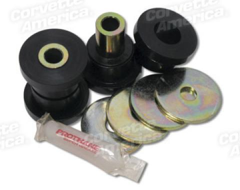 Corvette Rear Control Arm Bushing Set, Poly, 1963-1982