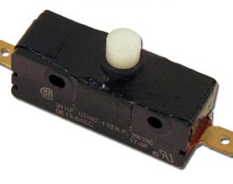 Corvette Wiper Door Limit Switch, without Harness, 1968-1972