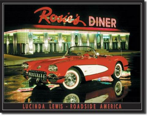 Tin Sign, Lewis - Rosie's Diner