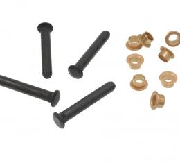 Corvette Door Hinge Pin & Bushing Set, 1956-1962