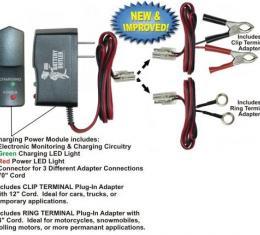 BatteryButler® Battery Storage Float Charger, 12 Volt