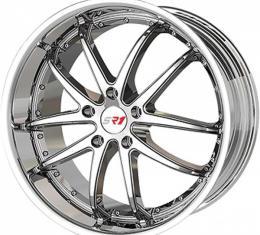 "Corvette Wheel Package, Chrome, Apex Series, 18"" Front, 19""Rear, 1997-2013"