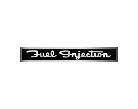 Corvette Decal, Fuel Injection Script, 1962