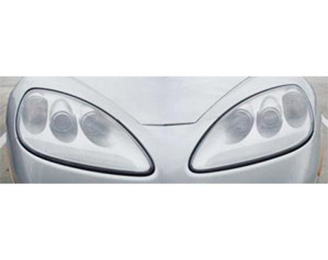 Corvette Lenses, Headlight, Left & Right, 2005-2013
