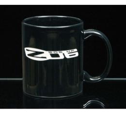 Corvette 11 Ounce Coffee Mug, C-Handle, Black, 1953-2013