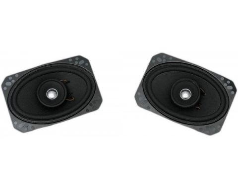 Custom Autosound 1968-1982 Chevrolet Corvette Speakers, Custom In-Dash Or Kick Panel
