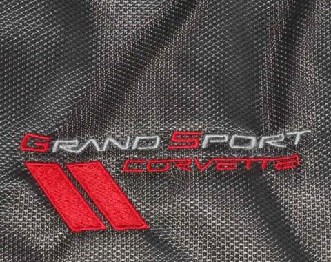 Corvette Grand Sport Duffle Bag, Vertex, Dark Gray