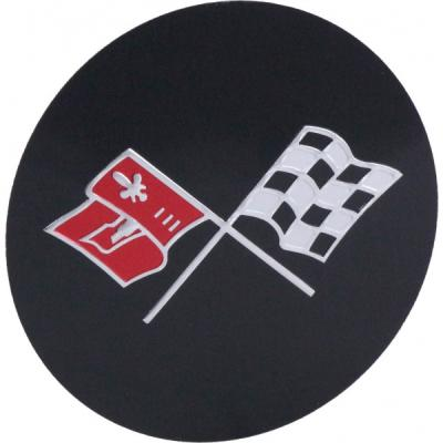 Corvette Wheel Center Cap Emblem, NOS, 1976-1979