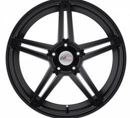 Corvette Wheel, Cray Brickyard, 18x9.5, Matte Black, 2014-2017