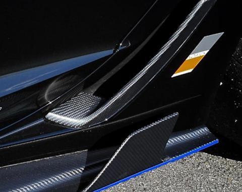 Corvette Z06/Grand Sport ConceptZ Carbon Fiber Rear Brake Ducts, 2015-2017