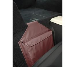 Corvette Leather Route Bag, Solid Color, 1984-1996