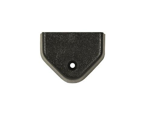 Corvette T-Top Center Alignment Lock Cover, Plastic, 1978-1982