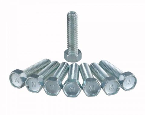 Corvette Show Quality Valve Cover Bolts, For Factory Aluminum Valve Covers, 1964-1986 Early
