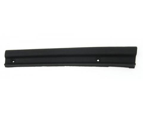 Corvette Weatherstrip, Hardtop Vertical Lower Extension, Left, USA, 1963-1967