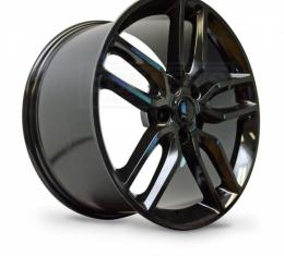 Corvette Z51-Style Wheel, Gloss Black Finish With Cap, 20X10, 5X4.75, 2014-2017