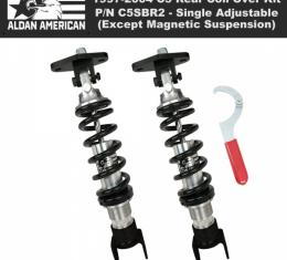 Aldan Phantom Series Single Adjustable Rear Coil Over Kit   C5SBR2 Corvette 1997-2004