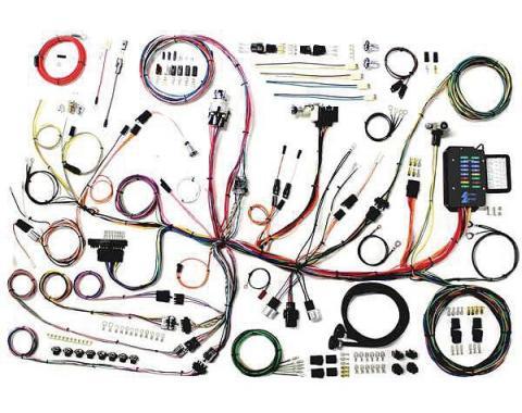 Lectric Limited Wiring Harness, Update, Complete| VCU5362 Corvette 1953-1962