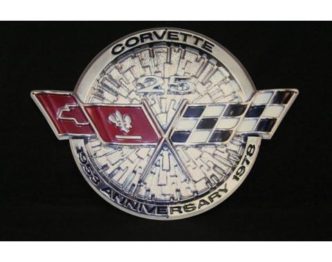 Corvette Metal Sign, 1978