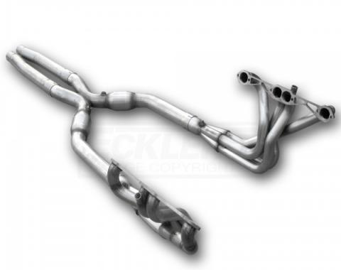 Corvette American Racing Headers 1-3/4 inch x 3 inch Full Length Headers With 3 inch X-Pipe &  No Cats, Off Road Use Only, 1984-1996