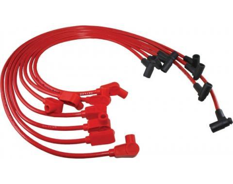 Corvette Spark Plug Wires, Red, Spiro-Pro, Taylor, 1984