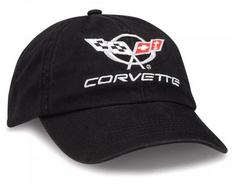 Black Unconstructed C5 Cap