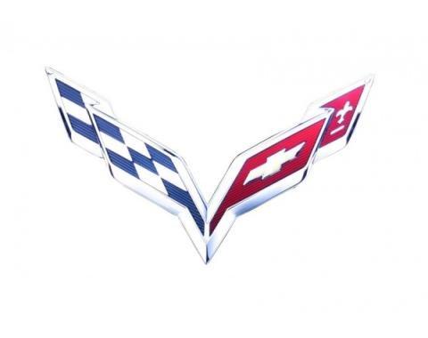 "Corvette Metal Sign, C7 24"" X 16"""