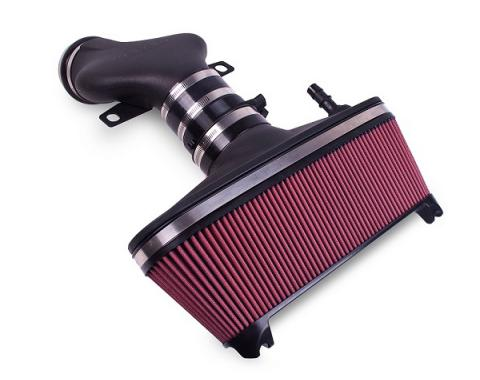 Corvette AIRAID® Cold Air Dam Intake System With Red SynthaFlow Filter, 2001-2004