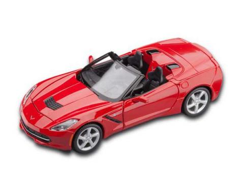 Corvette Red Stingray Convertible Die-Cast Model