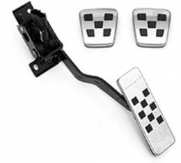 Corvette Pedal Covers, Gas, Brake & Clutch, With Manual Transmission, 2005-2013