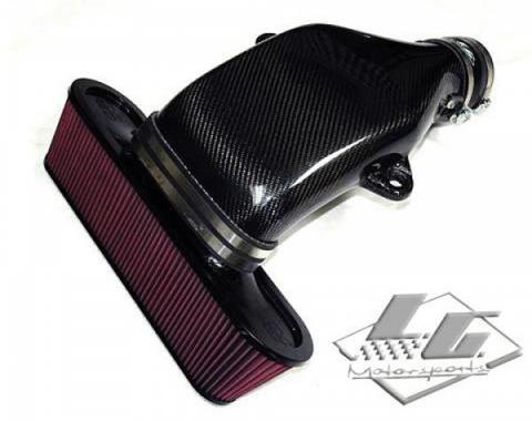Corvette LG Motorsports Carbon Fiber Cold Air Intake System, LS7, LS3, 2008-2013