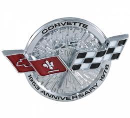 Corvette Gas Door Emblem, 1978