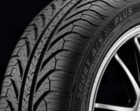 Corvette Tire,Michelin,Pilot Sport A/S Plus ZP,245/40YR18,2005-2013