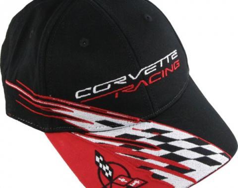 Corvette C5 Cap, Racing, Black