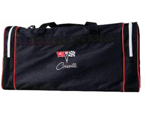 Corvette Duffel Bag With C2 Embroidered Logo