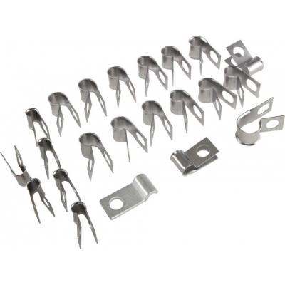 Corvette Brake & Fuel Line Clip Kit, 1969-1970