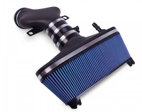 Corvette AIRAID® Cold Air Dam Intake System With Blue SynthaMax Filter, 2001-2004
