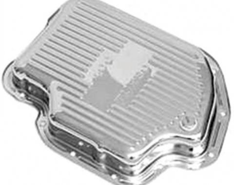 Corvette Automatic Transmission Oil Pan, Chrome, 1968-1977