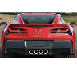 Corvette Stingray/Z06/Grand Sport 2014-2019 4-Piece Acrylic Full Separate Tail Light Blackout Cover Set