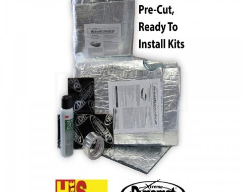 Quiet Ride Insulation, Front Floor Kit, Convertible| CORV 9704-CVFK Corvette 1997-2004