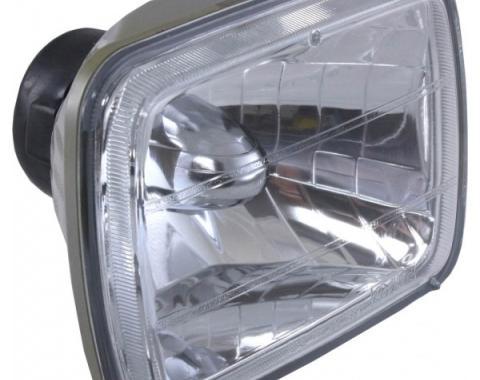 Corvette Headlight, Hi/Low, Diamond-Cut, 1984-1996