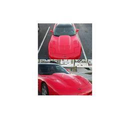 Premier Quality Products, Replica Hood, C5R| 41276Q Corvette 1997-2004