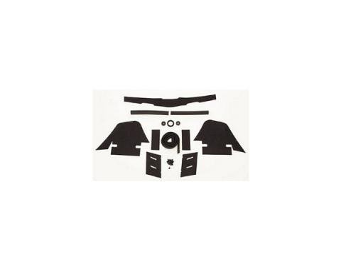Corvette Engine Compartment Seal Kit, 1969-1972