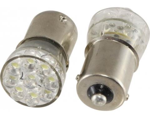 Light Bulbs, 1156, (15) Miniature LEDs Hyper White