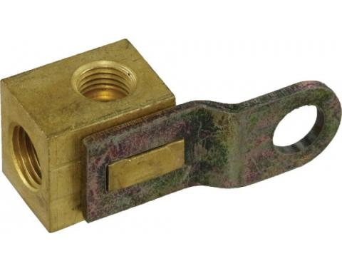 Corvette Brake Distribution Block, Right, Front, 1953-1962