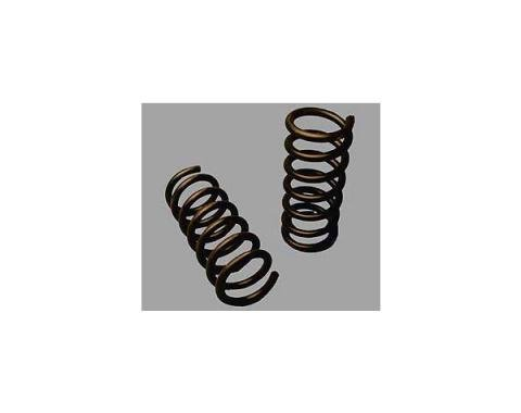 Corvette Front Coil Springs, With Small Block Engine, 1963-1972